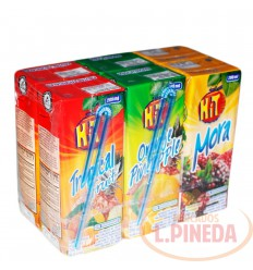 Jugo Hit 5 X 6 X 200 ML Sabores Surtidos