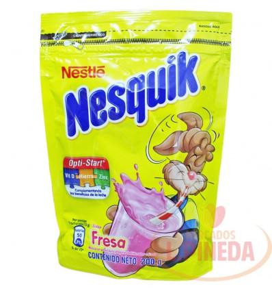 Bebida Achocolatada Nesquik X 200 G Fresa