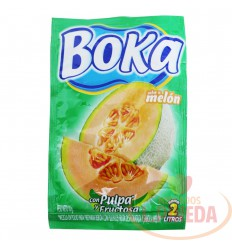 Refresco Boka X 2 L X 18 G Melon