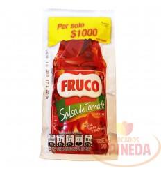 Salsa De Tomate X 90 G Fruco