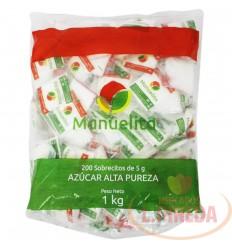 Azucar Manuelitax 200 Sobres