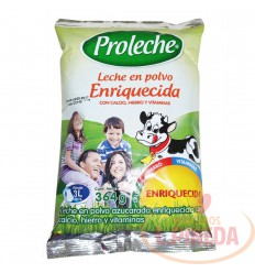 Leche Proleche X 364 G En Polvo Enriquecida