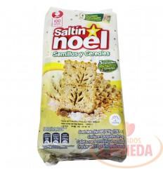 Galleta Saltin Noel 9 Un Semillas Y Cereales