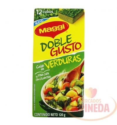 Caldo Maggi Doble Gusto Verduras X 12 Un