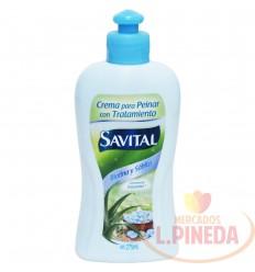 Crema para peinar Savital Biotinay Sabila X 275ml