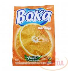 Refresco Boka X 2 L X 18 G Naranja
