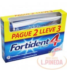 Crema Dental Fortident X 3 X 72 ML Limpiez