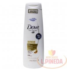 Shampoo Dove Aleo Nutricion X 400