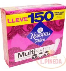 Protectores Nosotras Multiestilo X 150 Un