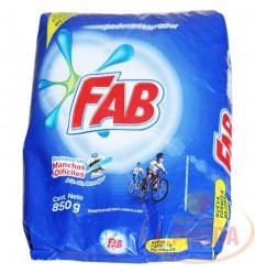 Detergente Fab Floral X 850 G