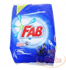 Detergente Fab Floral X 450 G