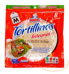 Tortillas Integrales Bimbo X 8 Unds