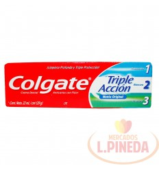 Crema Dental Colgate X 22 ML Triple Accion