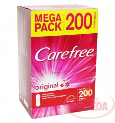 Protectores Carefree Original X 200 Con Perfume