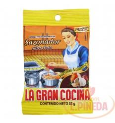 Sazonador X 55 G La Gran Cocina