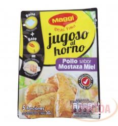 Maggi Jugoso Horno Pollo Mozta Y Miel 30 G