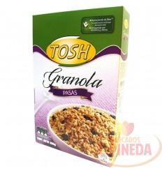 Cereal Tosh Granola Pasas X 300 G