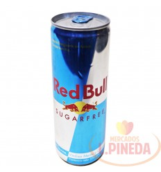 Energizante Redbull 250 ML Sin Azucar