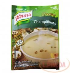 Crema Knorr X 64 G Champinones