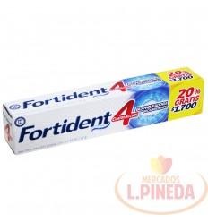 Crema Dental Fortident X 60 ML 4acc.Blanq.