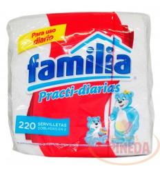 Servilletas Familia Practi-Diarias X 220