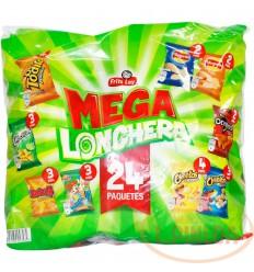 Mecato Fritolay Mega Lonchera X 24 Unds