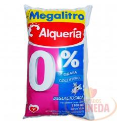 Leche Alqueria 1100 Descremada Deslactosada