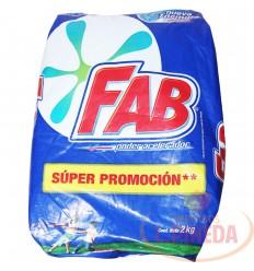 Detergente Fab Floral X 2000 G