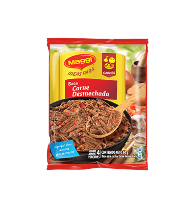 Base Maggi X 50 G Carne Desmechada