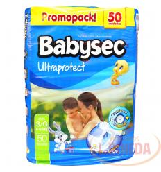 Pañal Babysec Ultraproctect X 50 Etapa G