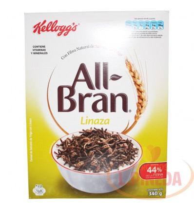 Cereales Kellogg's All Bran Linaza X 340 G