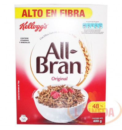 Cereales Kellogg's All Bran Original X 400 G