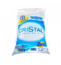 Agua cristal 6 litros