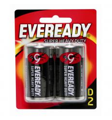 Pilas D2 eveready x2
