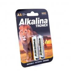 Pilas AA alkalina tronex x2