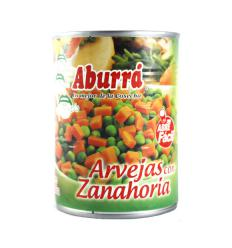 Arveja con zanahoria - aburra x320g