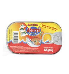 Sardina en salsa de tomate - aburra x125g