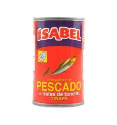 Sardina en salsa de tomate - isabel x156g