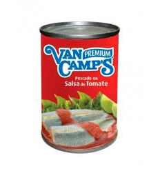 Sardinas en salsa de tomate - van camps premium x170g