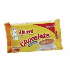 Chocolate en pastillas sin azucar - aburra x125g