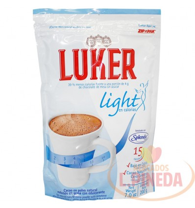 Chocol.Luker 200 G Light Splenda