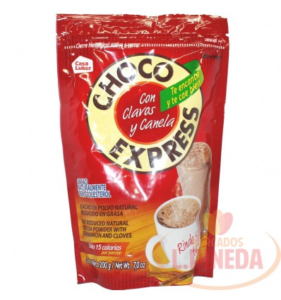 Chocolate Choco Express 200 G Clavo Y Canela