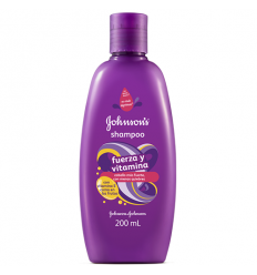 Shampoo Johnson x 200 ml Fuerza Y Vitamina