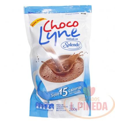 Chocolate Choco Lyne X 200 G Con Splenda