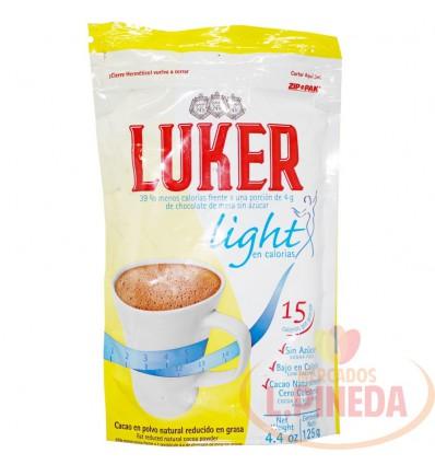 Chocolate Luker X 125 G Light Polvo Tradicional