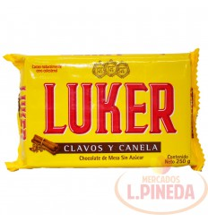 Chocolate Luker X 250 G Clavos Y Canela