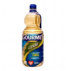 Aceite Gourmet Canola x 3000 ml