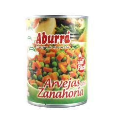 Arveja Con Zanahoria Aburrá x 580 gr