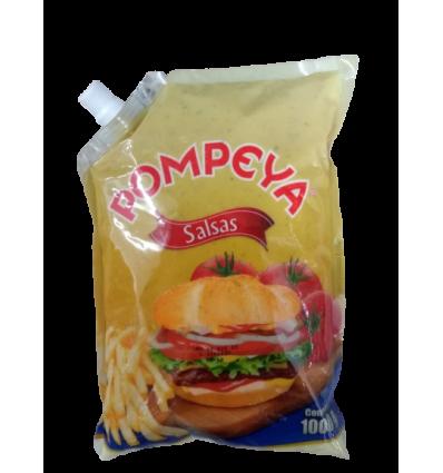 Salsa mayo-mustar X 1000 G pompeya