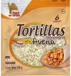 Tortillas Haz De Oros Integrales Avena x6Und